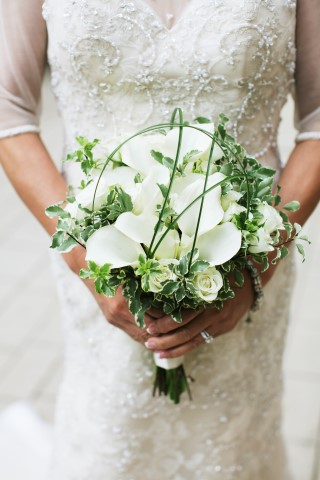 Bridal Bouquet with Natural Elements