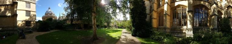 Exeter College Garden