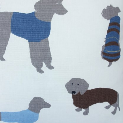 Blue Dogs design Scatter Cushion, home decor gift