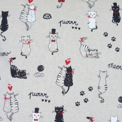 Cats In Love design Scatter Cushion, home decor gift