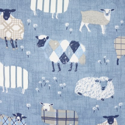 Patterned Sheep design Scatter Cushion, home decor gift