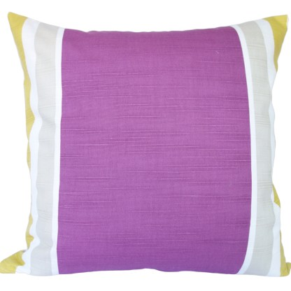 Purple Floral design Scatter Cushion, home decor gift
