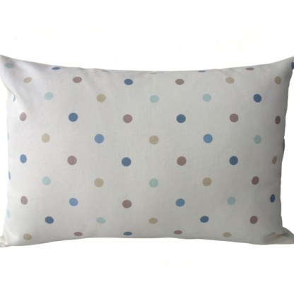Teddy Bear Embroidered Oblong Cushion - unique home gift