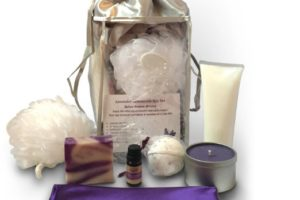 Lavender Spa Bath And Body Gift Set