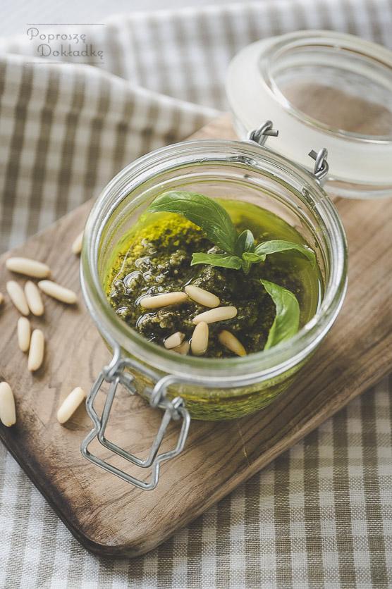 Pesto alla genovese - oryginalne pesto bazyliowe przepis
