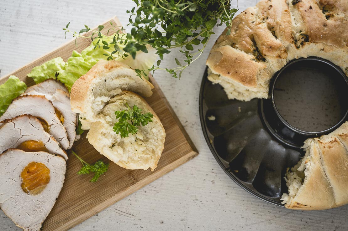 Chleb czosnkowy do odrywania