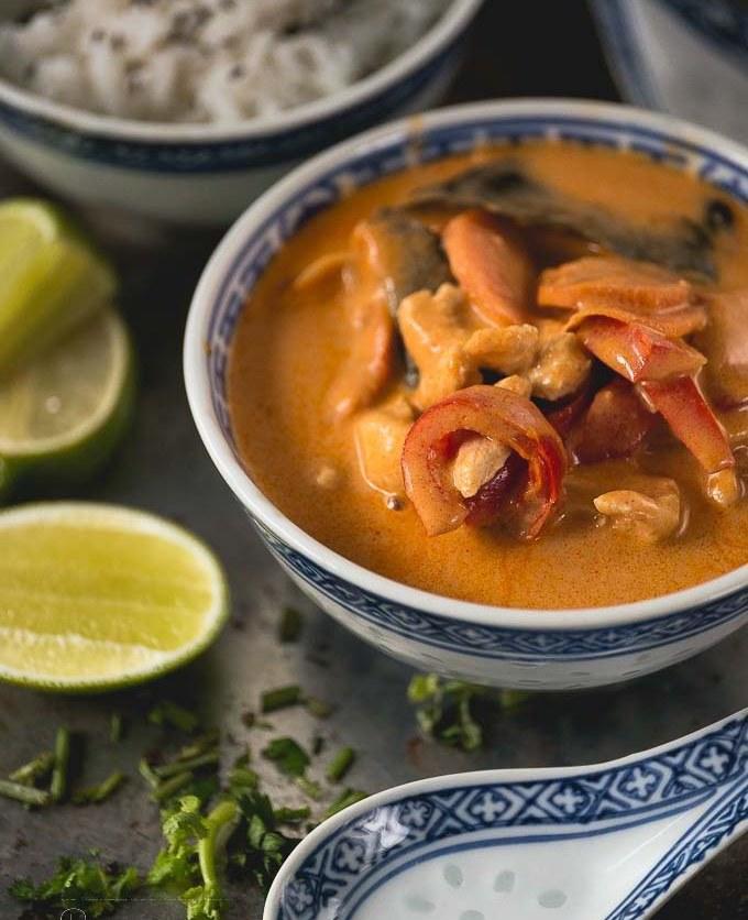 Thai red curry - czerwone tajskie curry przepis