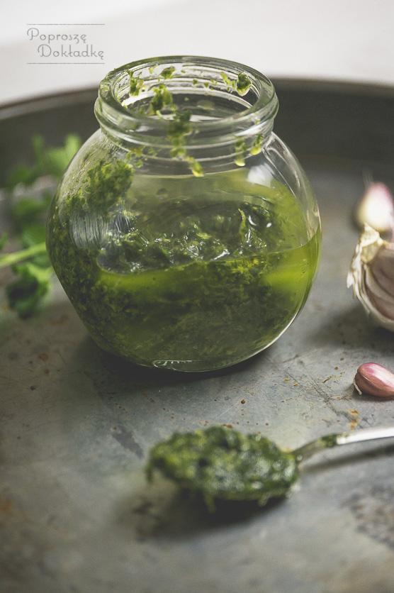 Mojo verde przepis - kanaryjski sos na bazie kolendry