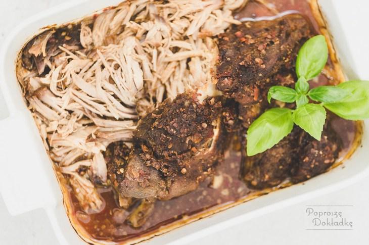 Pulled pork - szarpana wieprzowina przepis