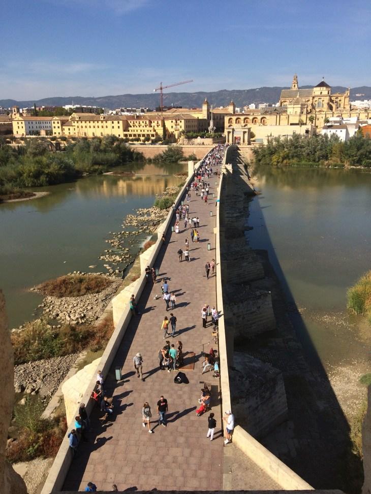 widok z Torre de la Calahorra