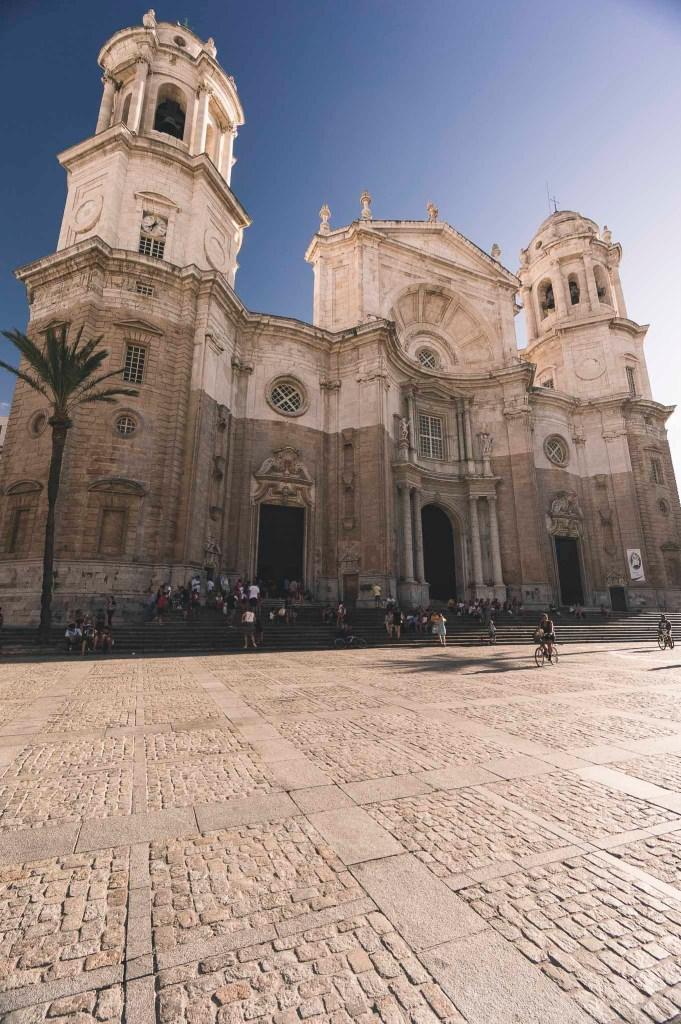 Katedra w Kadyksie - robi wrażenie i nadaje miastu wyjątkowości