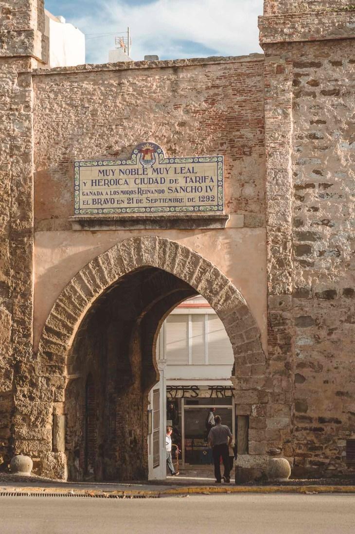 Puerta de Jerez - Tarifa, Hiszpania, Andaluzja