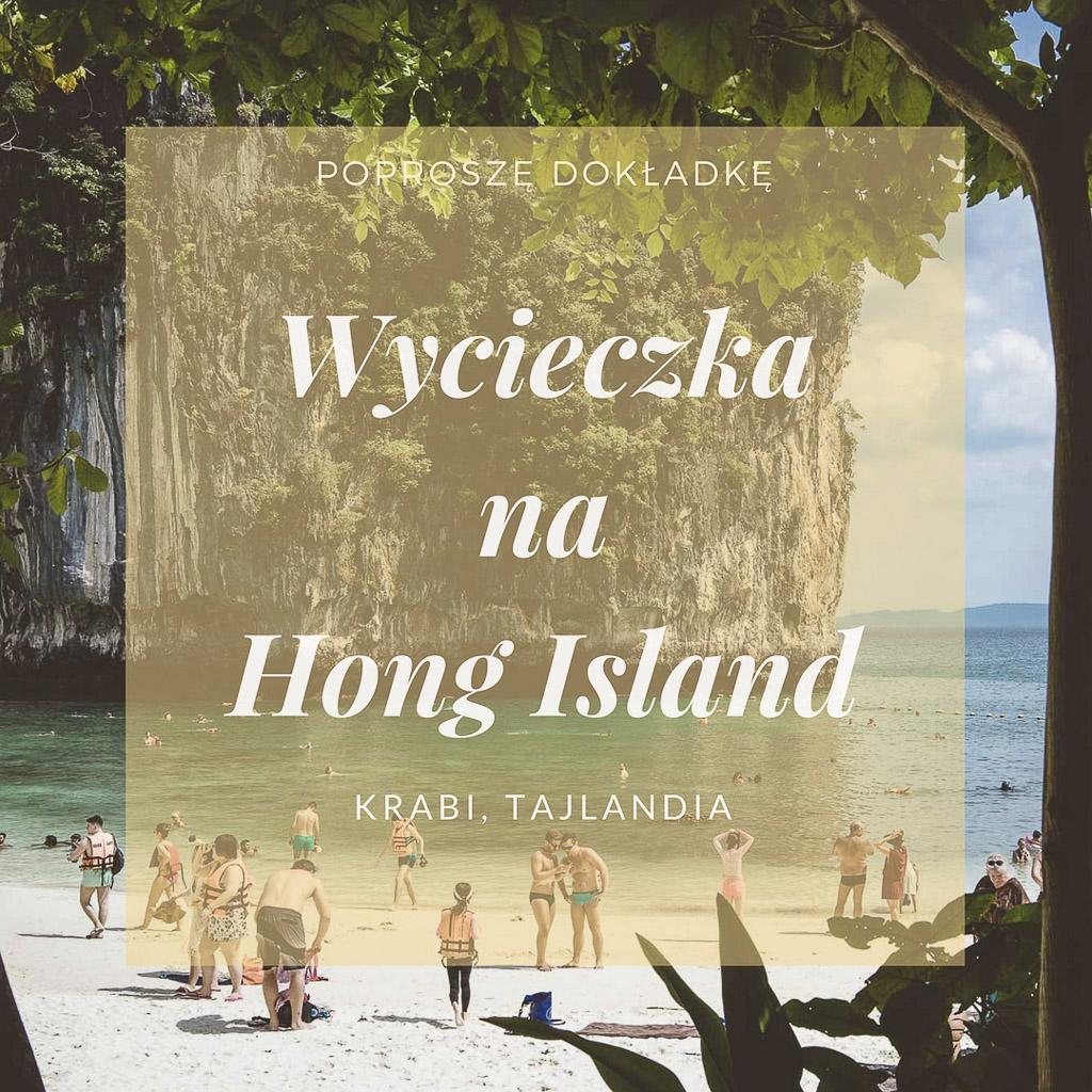 Wycieczka na Hong Island, Tajlandia