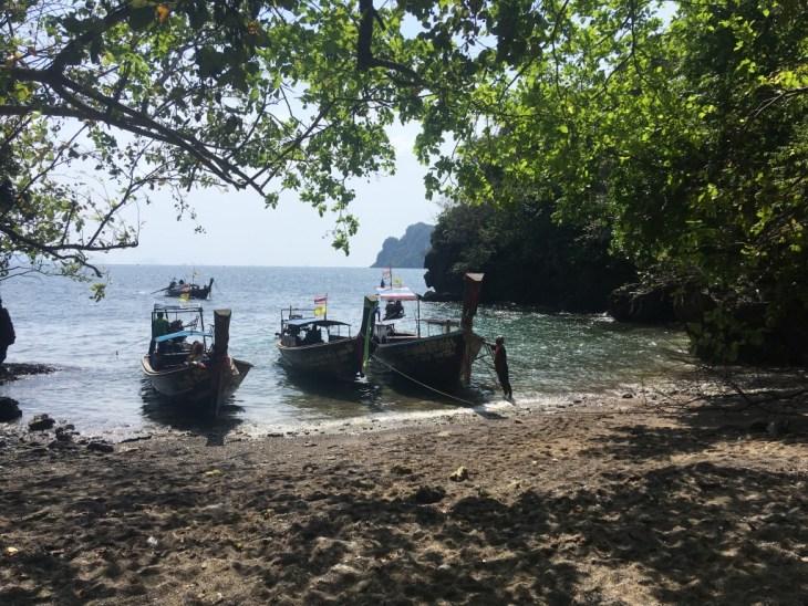 schowana plaża, do której dojdziemy przez małą dżunglę