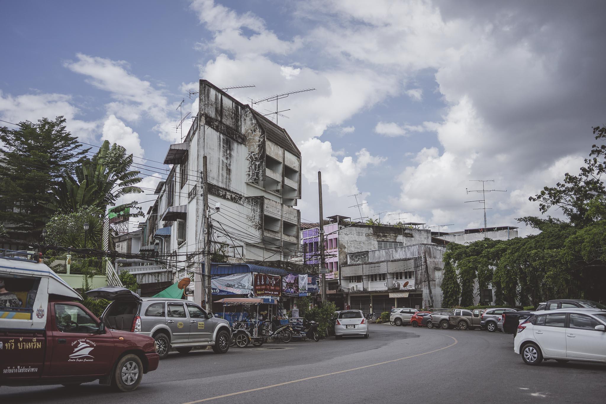 Ulice Krabi Town