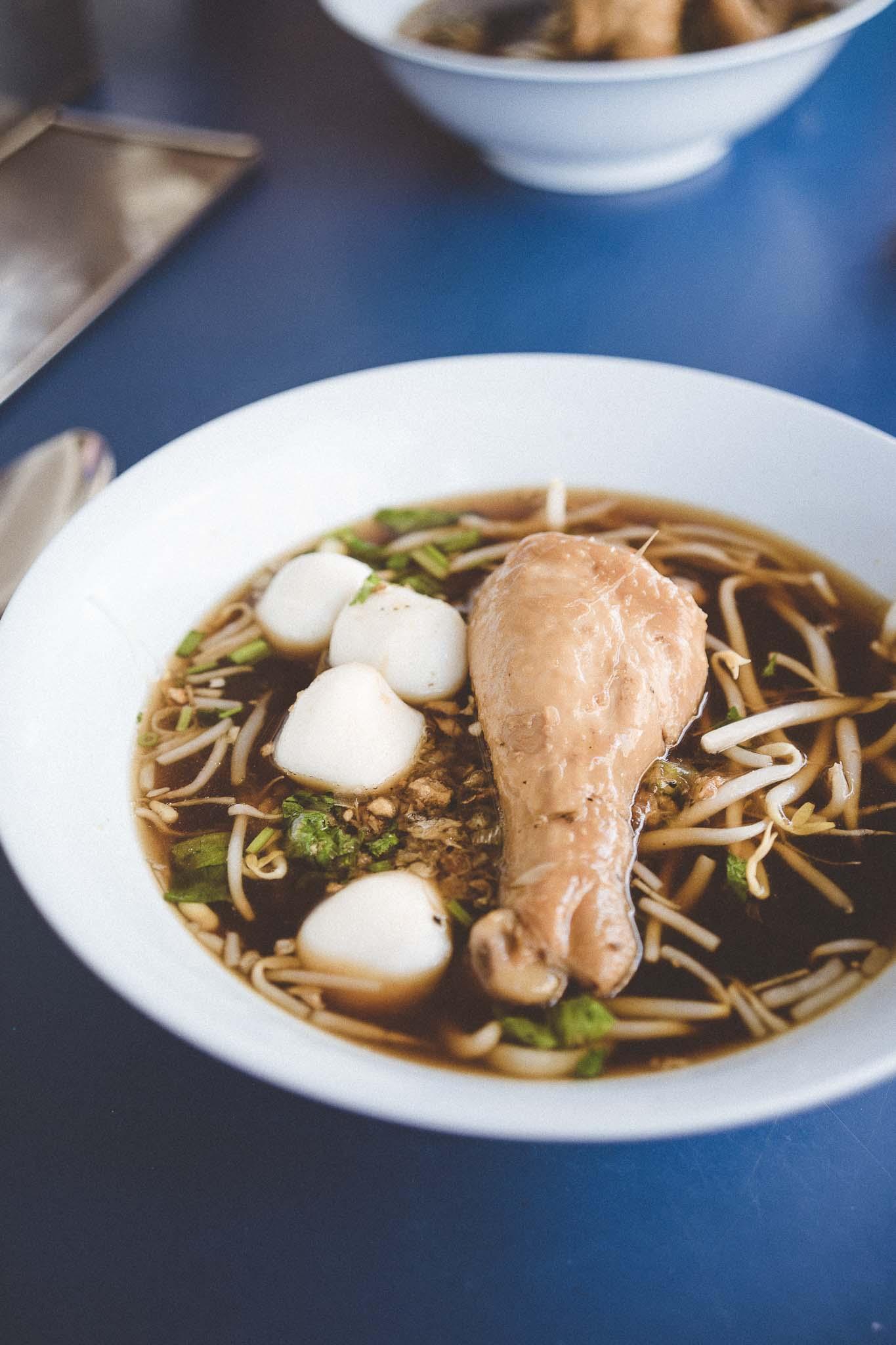 Klasyczna zupa z kurczakiem