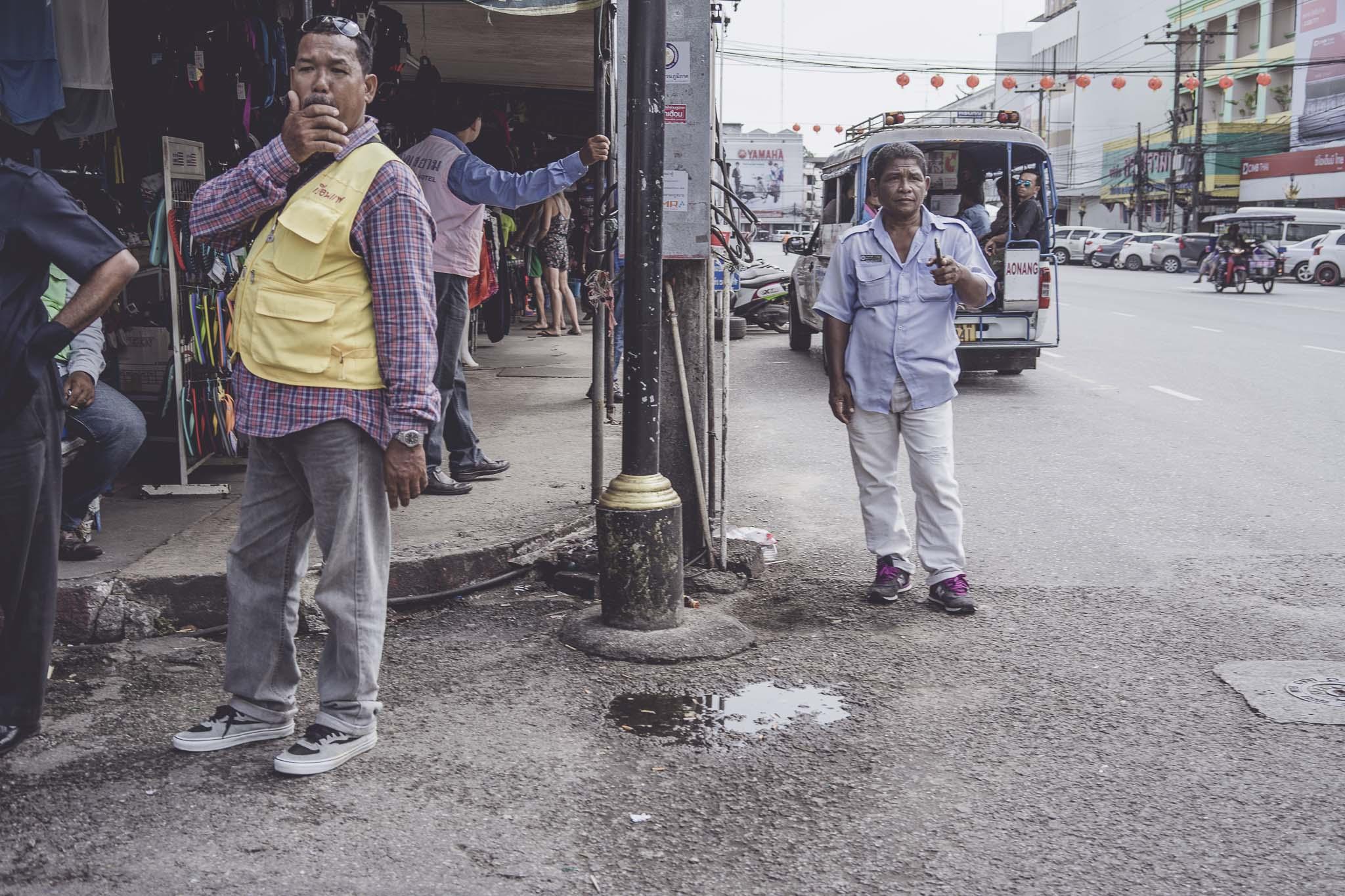 Taksówkarze w Krabi Town