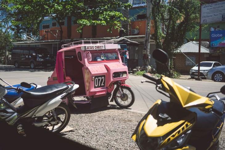 różowy trycykl :-)