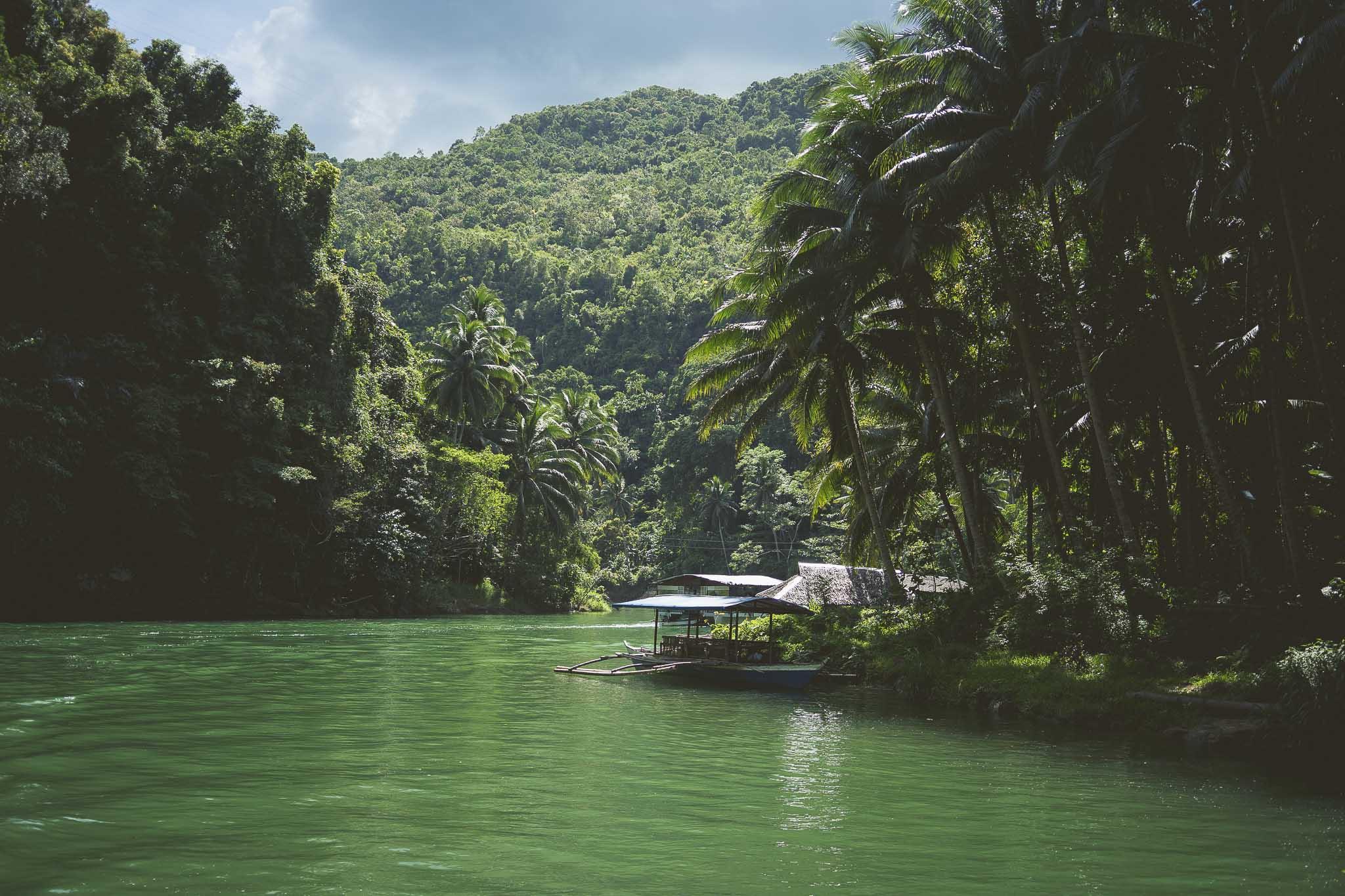 Rzeka Loboc, Filipiny, Panglao