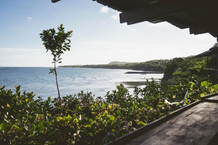 widok z Sun Deck