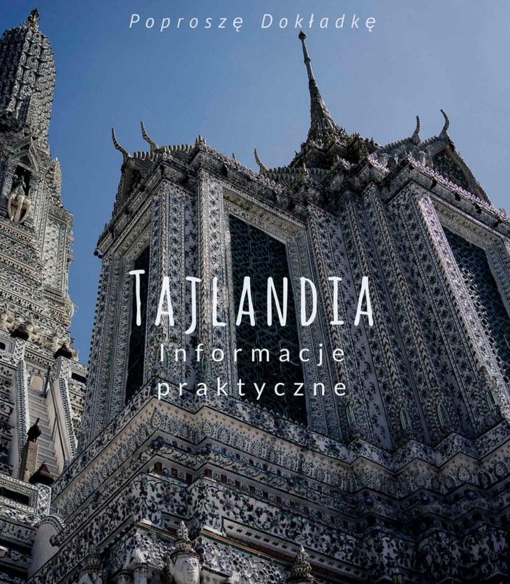 Tajlandia - informacje praktyczne