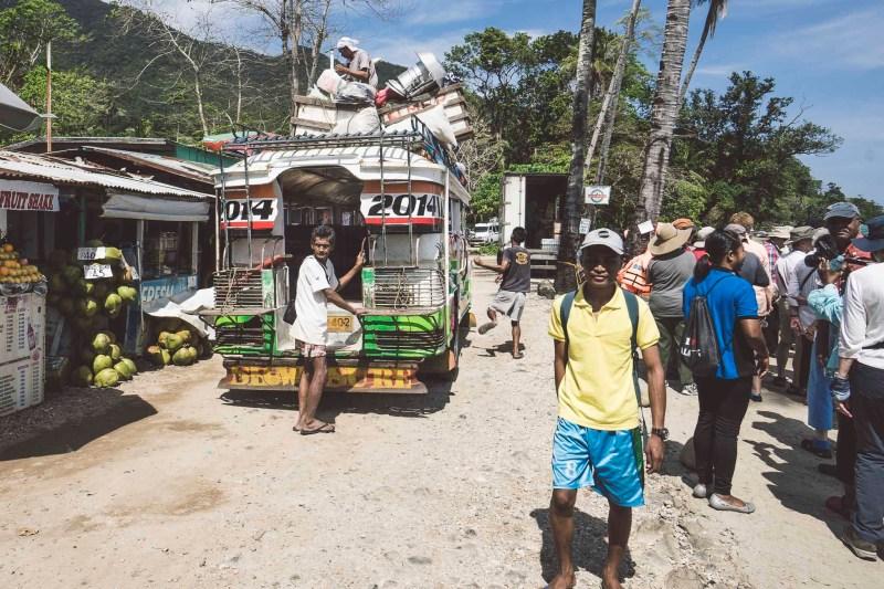 Jeepney, Filipiny, Palawan