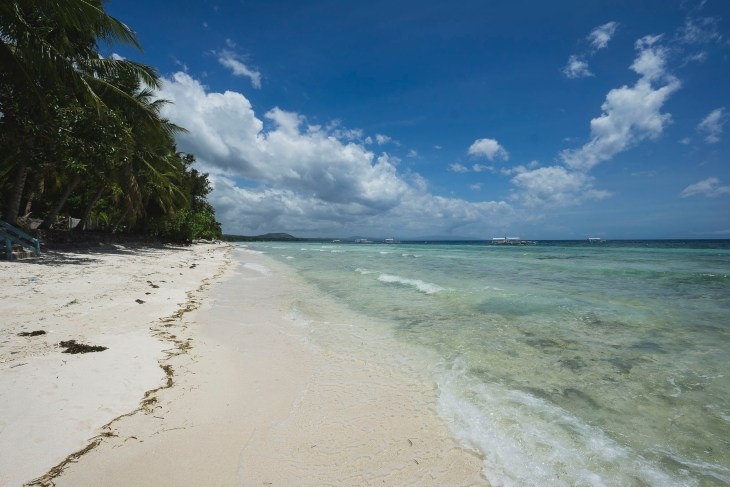 piękna plaża Dumaluan