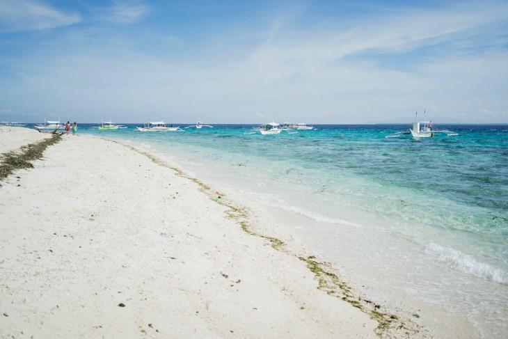 piękna plaża na wyspie Balicasag