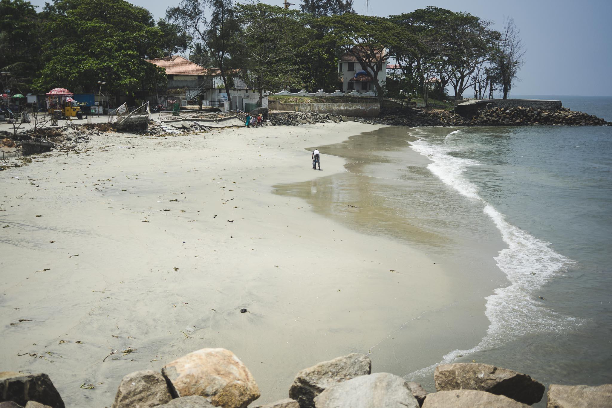 Plaża główna w Fort Koczin