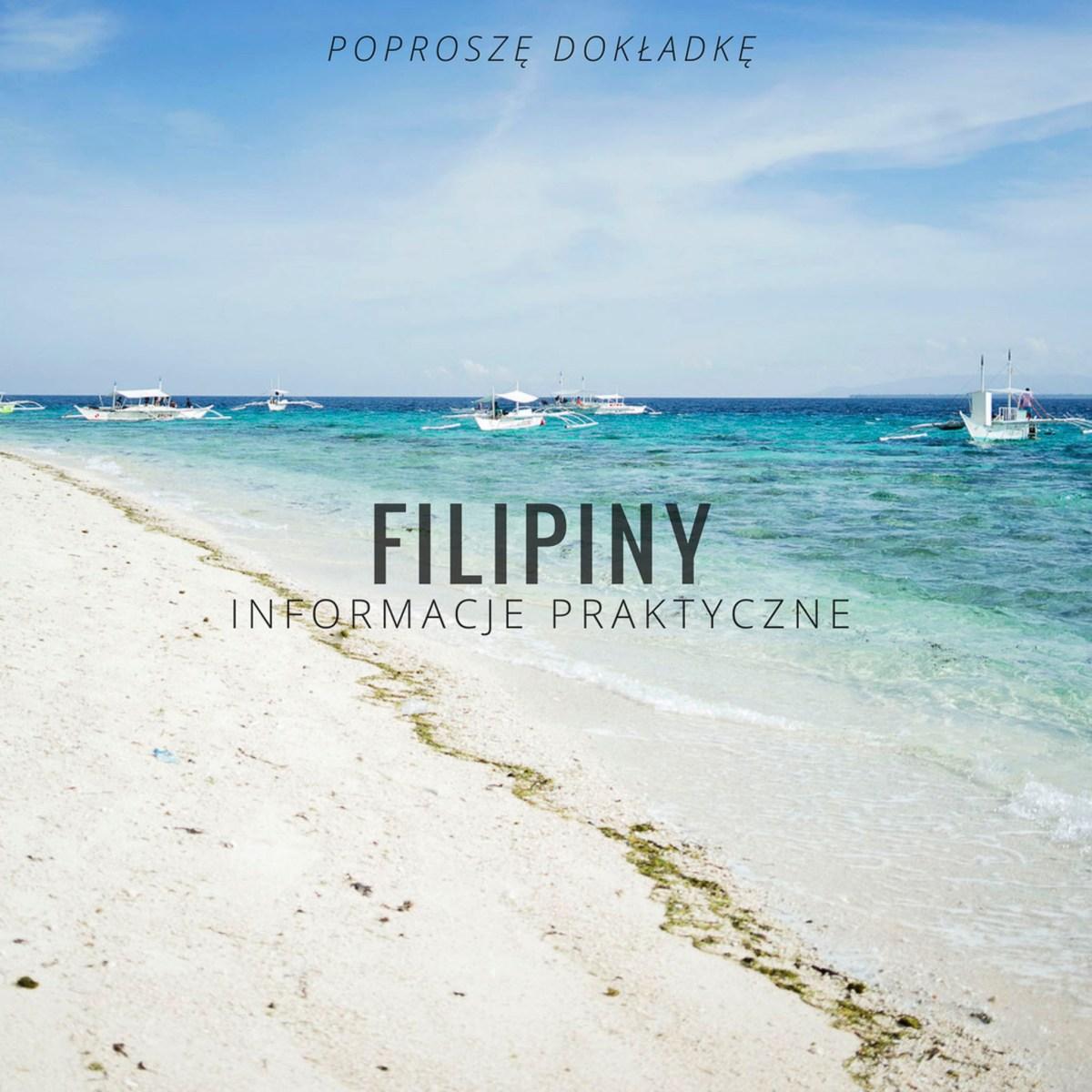 Filipiny - informacje praktyczne