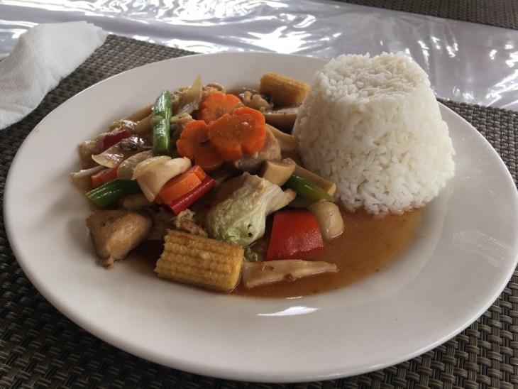 Domowa kuchnia filipińska w hiszpańskiej restauracji :-)