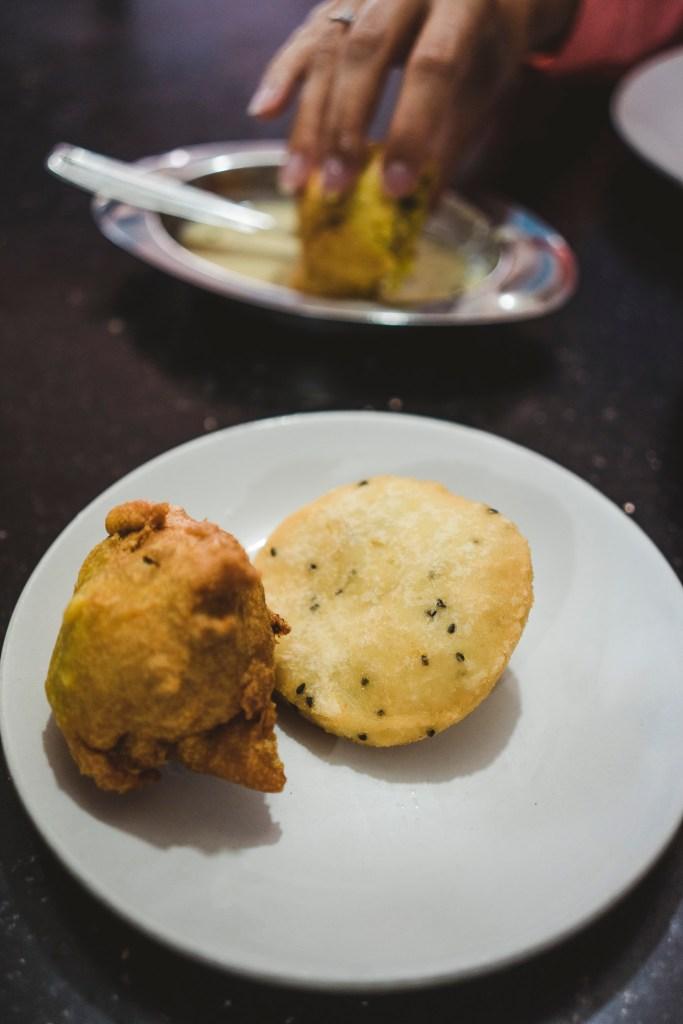 smażone placuszki to indyjski przysmak