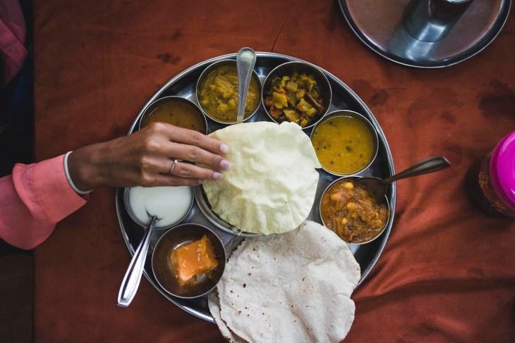obłędne indyjskie jedzenie