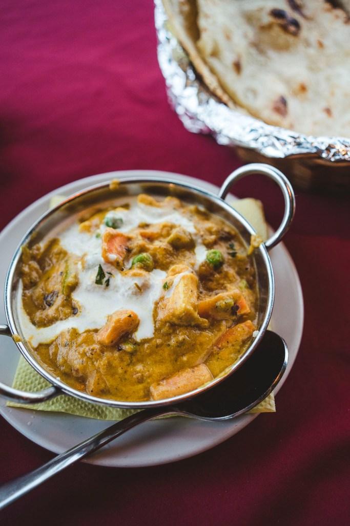 Mixed Veg Curry, czyli curry z różnymi warzywami