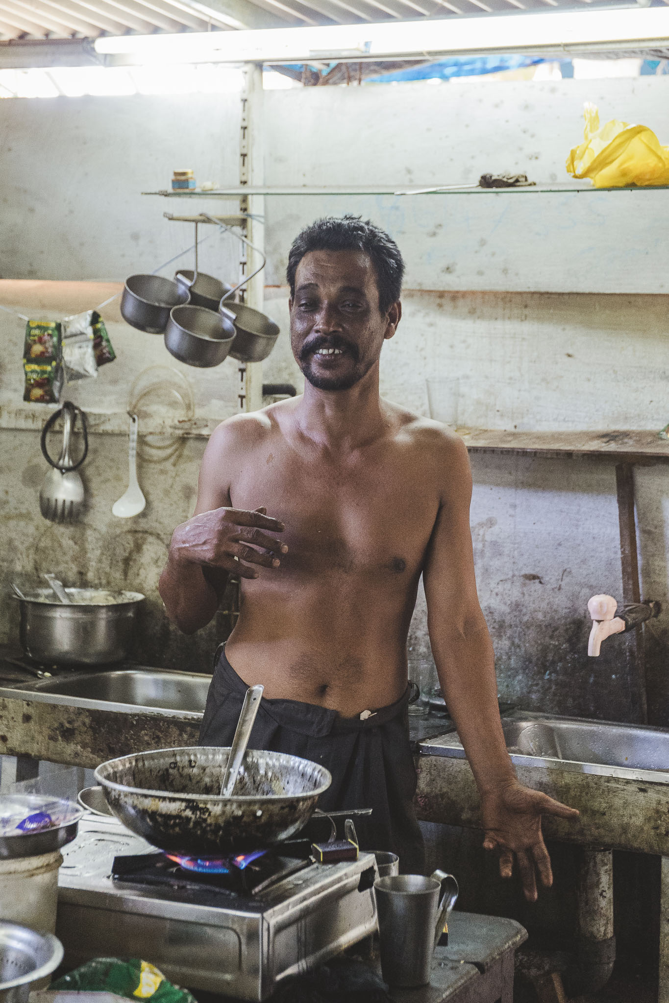 """Szef kuchni """"Amantha"""" od kuchni"""