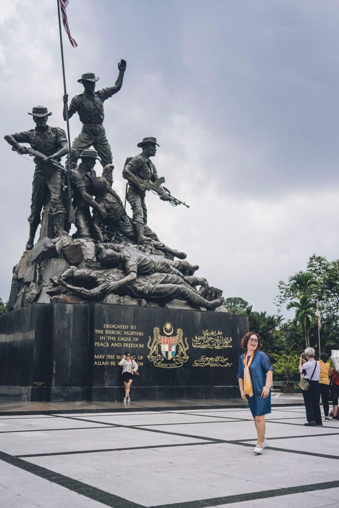 Pomnik poległych w walkach o niepodległość Malezji