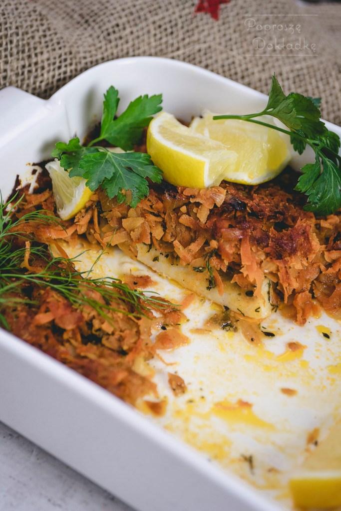 pieczona ryba po grecku