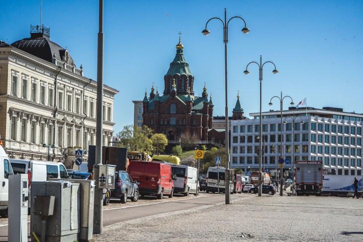 ulicami Helsinek