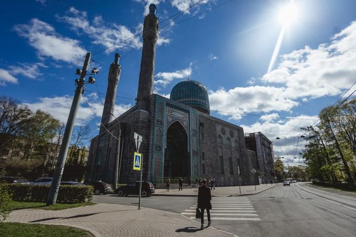 Meczet Błękitny w Petersburgu