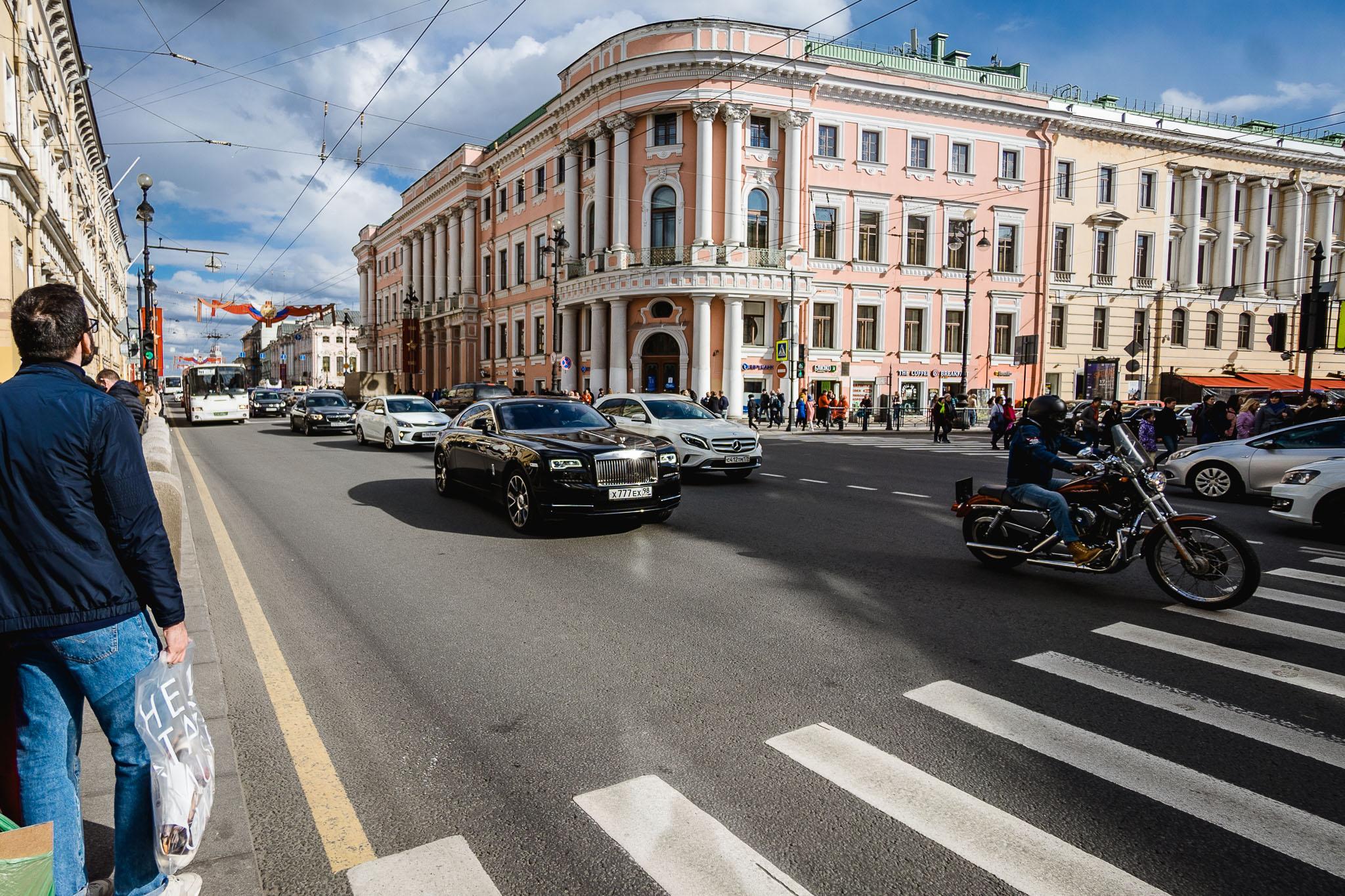 Luksus na ulicach Petersburga