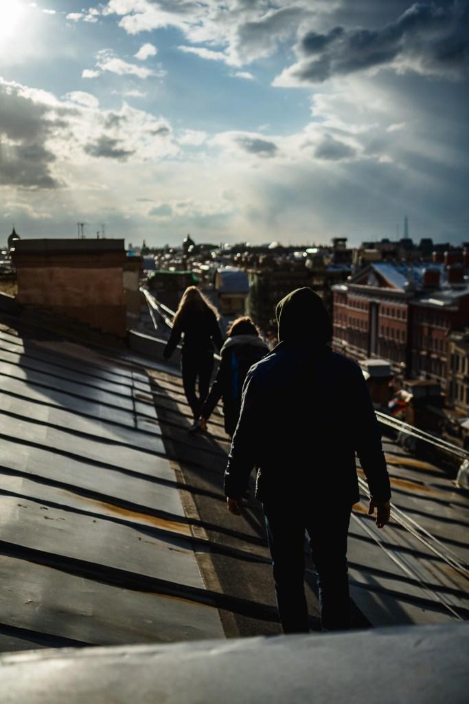 fantastyczne zwiedzanie Petersburga z perspektywy dachów