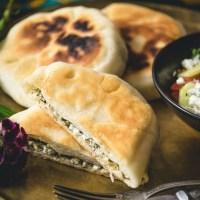 Placinta cu branza - mołdawskie placki z serem i ziołami