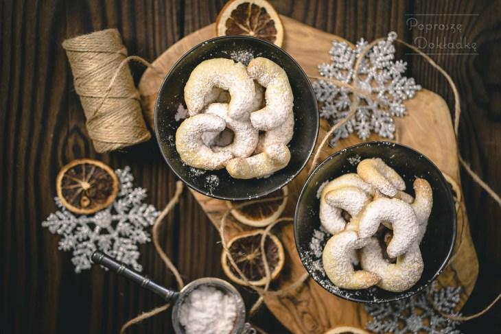ciasteczka waniliowo-migdałowe