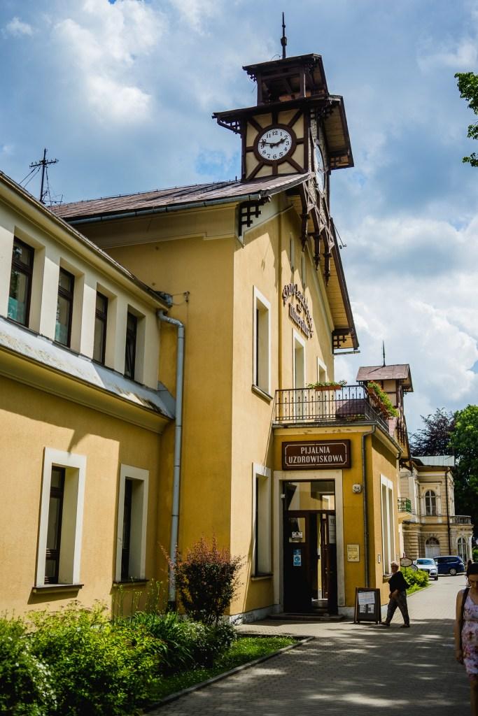 budynek Starych Łazienek