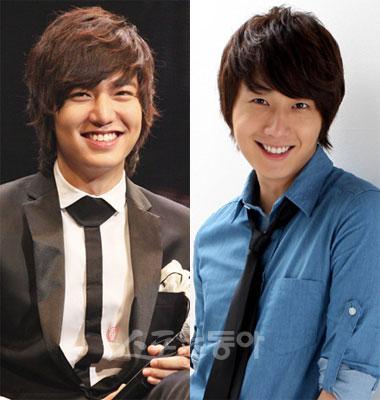 Lee Min-ho y Jung Il-woo acto homosexual