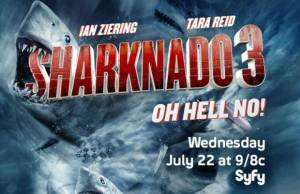 Sharknado 3: assista ao trailer do filme para TV