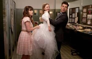 new girl casamento cece