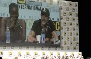 the walking dead comic con 2017