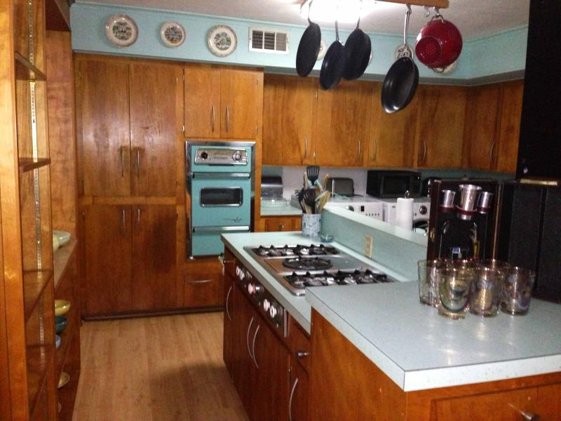 The Kitchen of the Atomic Houston | Tour the Atomic House | Midcentury Homes Houston | Westbury Houston Parade of Homes