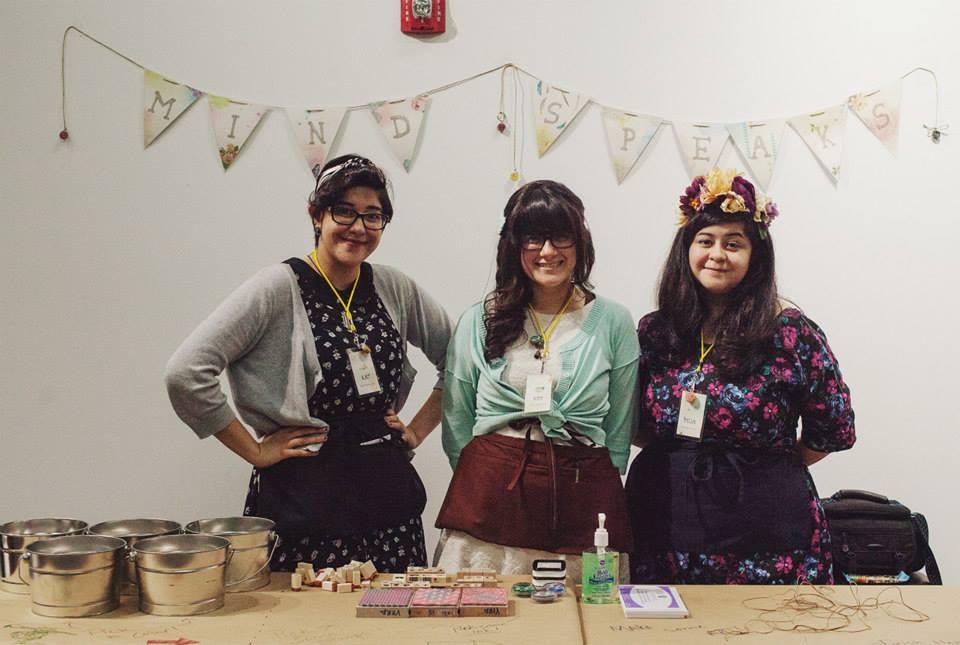 Mind Speaks Blog at Pop Shop Houston Festival | Make Your Own Cork Jewelry at Pop Shop Art Festival | Maker Faire | Craft Fair